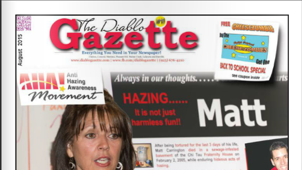 DIABLO GAZETTE AUGUST 2015 ISSUE