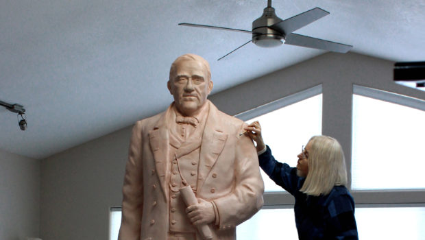 Sneak Peek: Pacheco Clay Portrait Sculpture