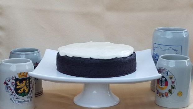 Dark Chocolate Guinness Cake