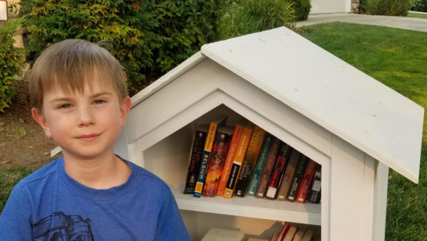 Andrew's Little Free Library