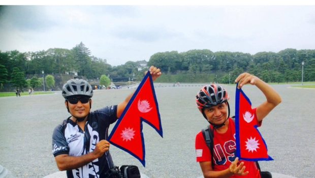 Nepalese Cyclists World Quest Gets Stalled in Concord