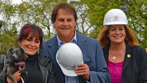 Tony La Russa and ARF Donors Launch Pets for Veterans Building in Walnut Creek.