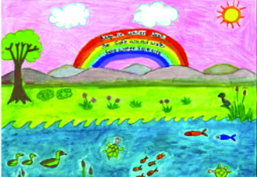 Water Awareness Youth Art  Calendar Contest