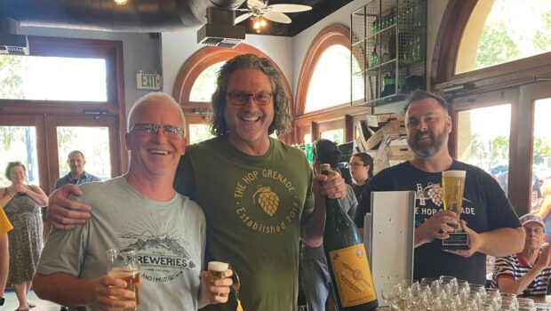 King (of beer) and Hop Grenade Win in Contra Costa County Beer Trail
