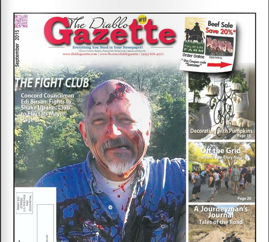 DIABLO GAZETTE September 2015 Isse