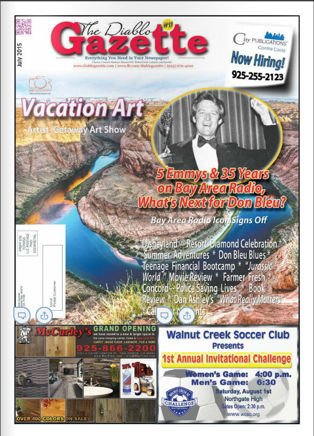 Diablo Gazette July 2015 Issue