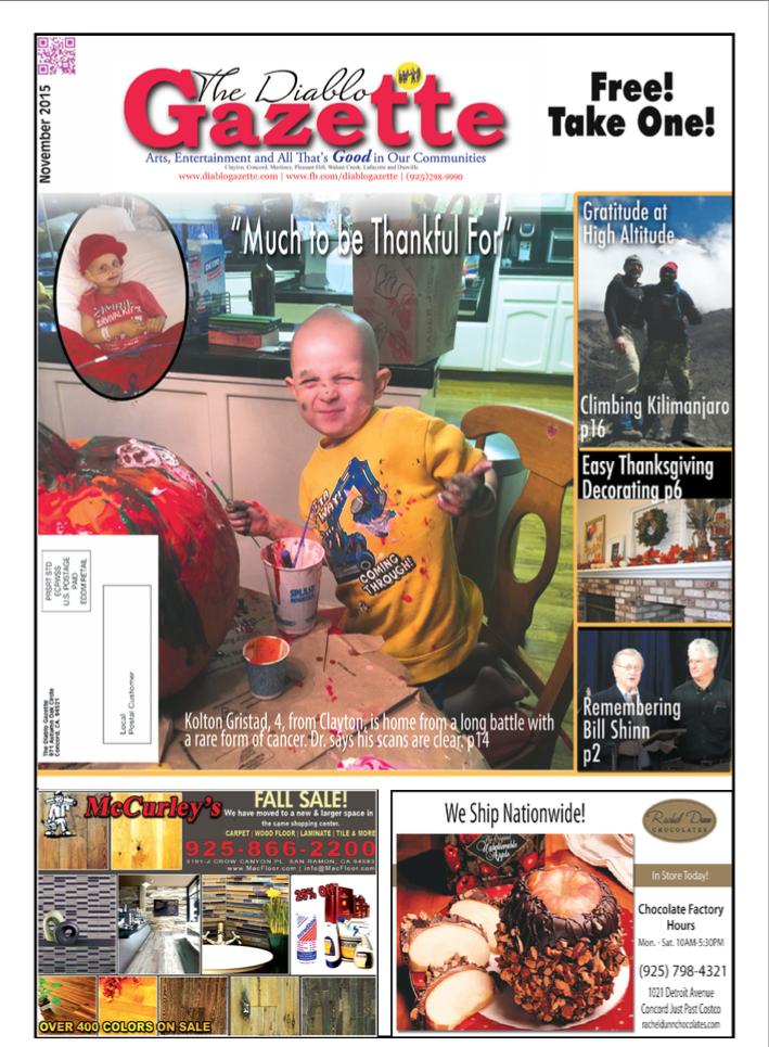 Diablo Gazette November 2015 Issue