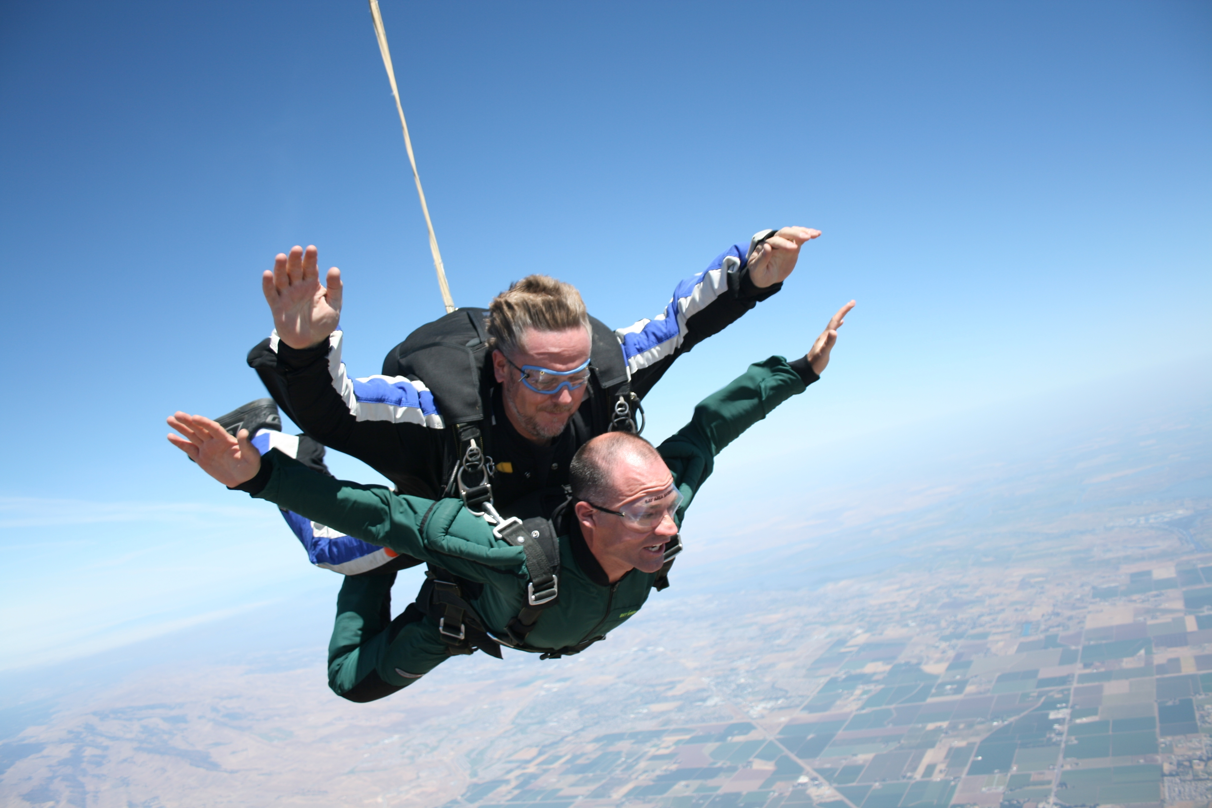 New Year's Resolution: Skydiving