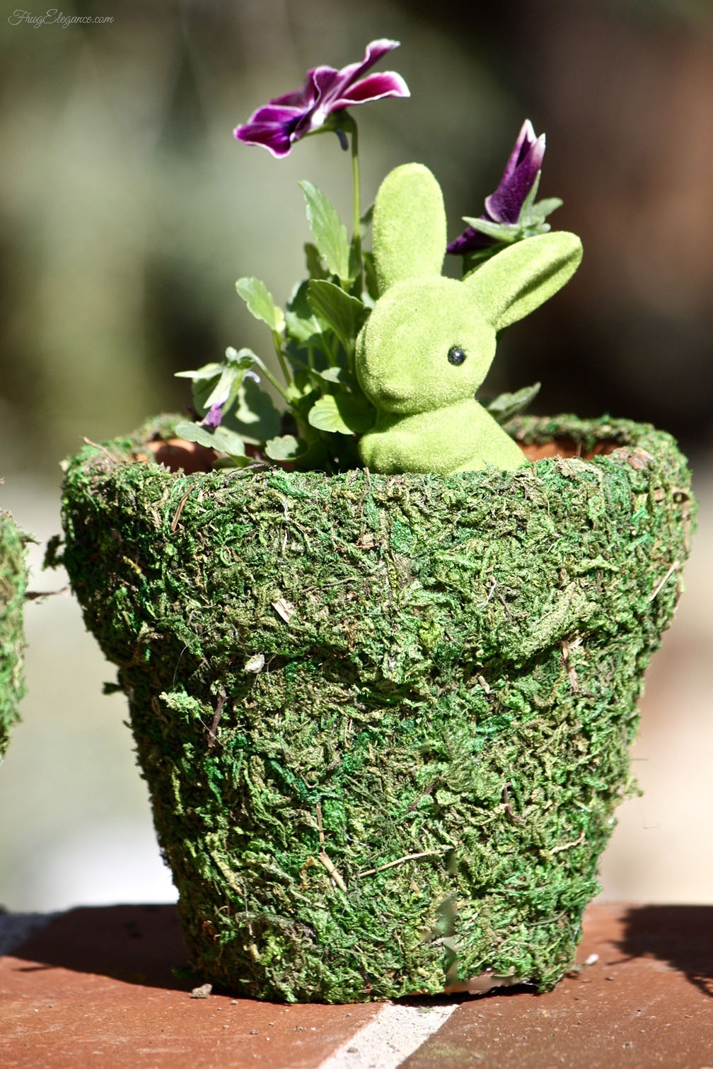 Spring Decor   DIY Moss Pots