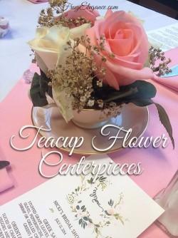 Teacup Table Centerpieces