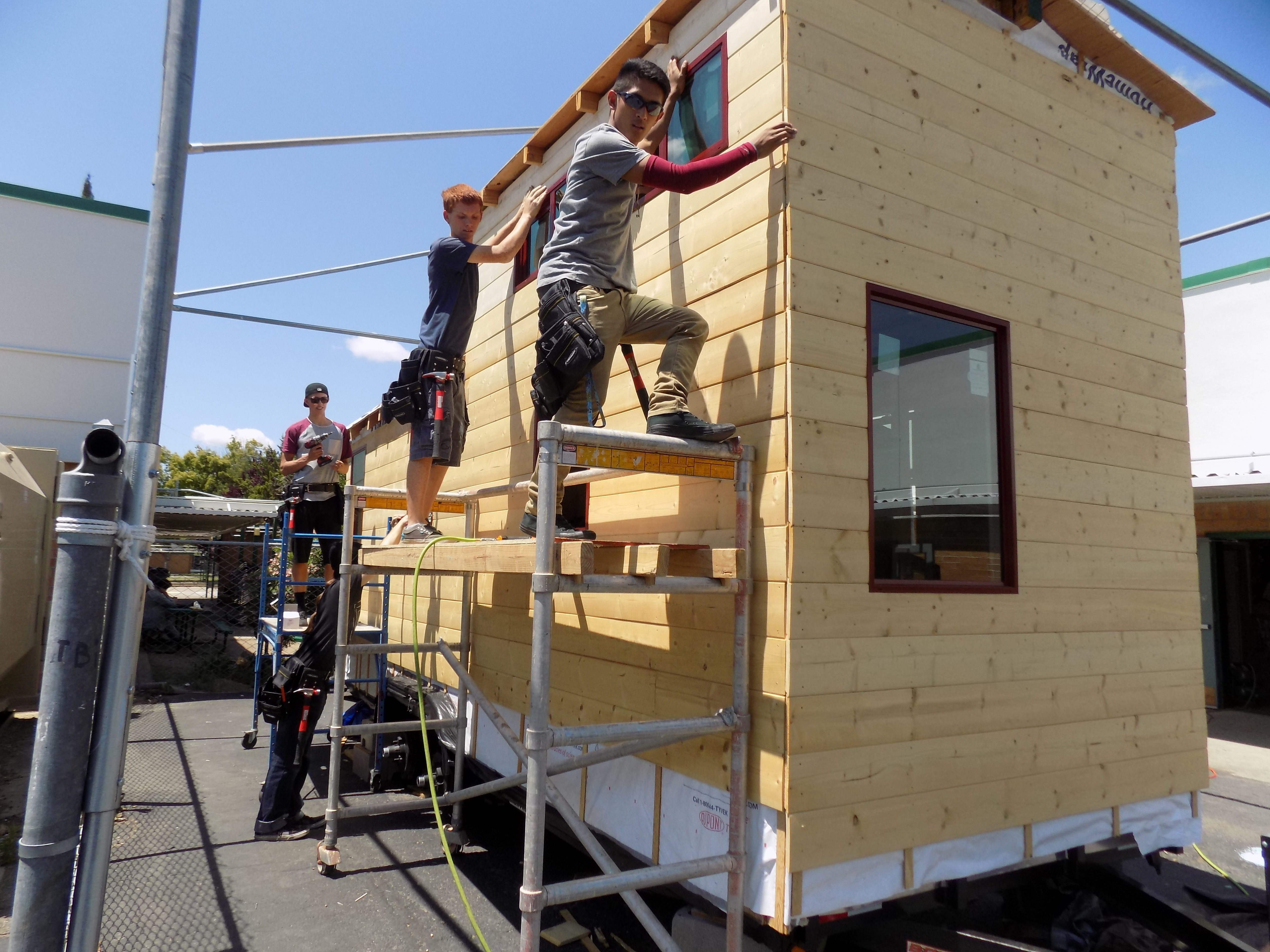 Concord High Engineering Project: Build a House
