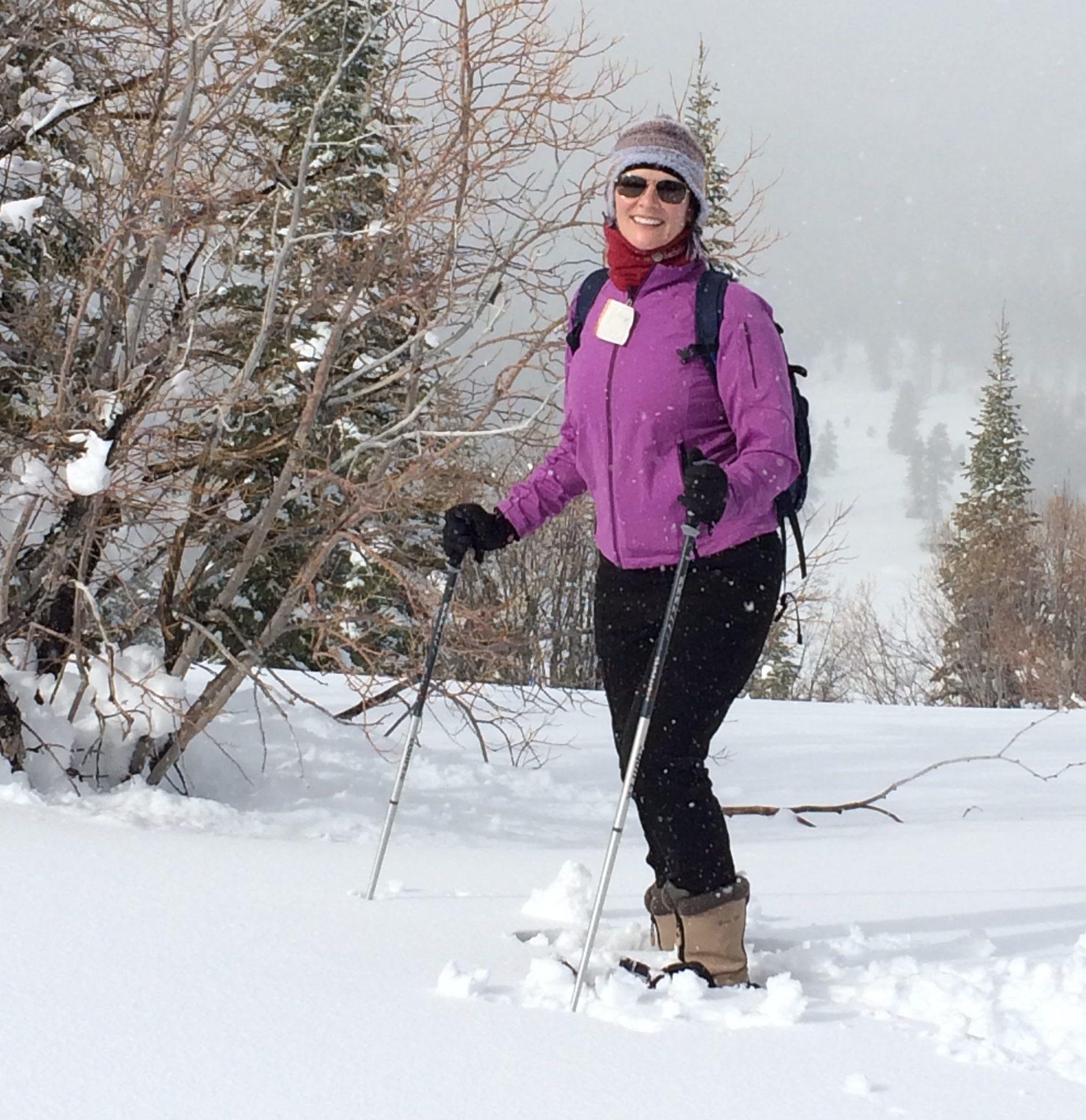 Snowshoeing in Truckee