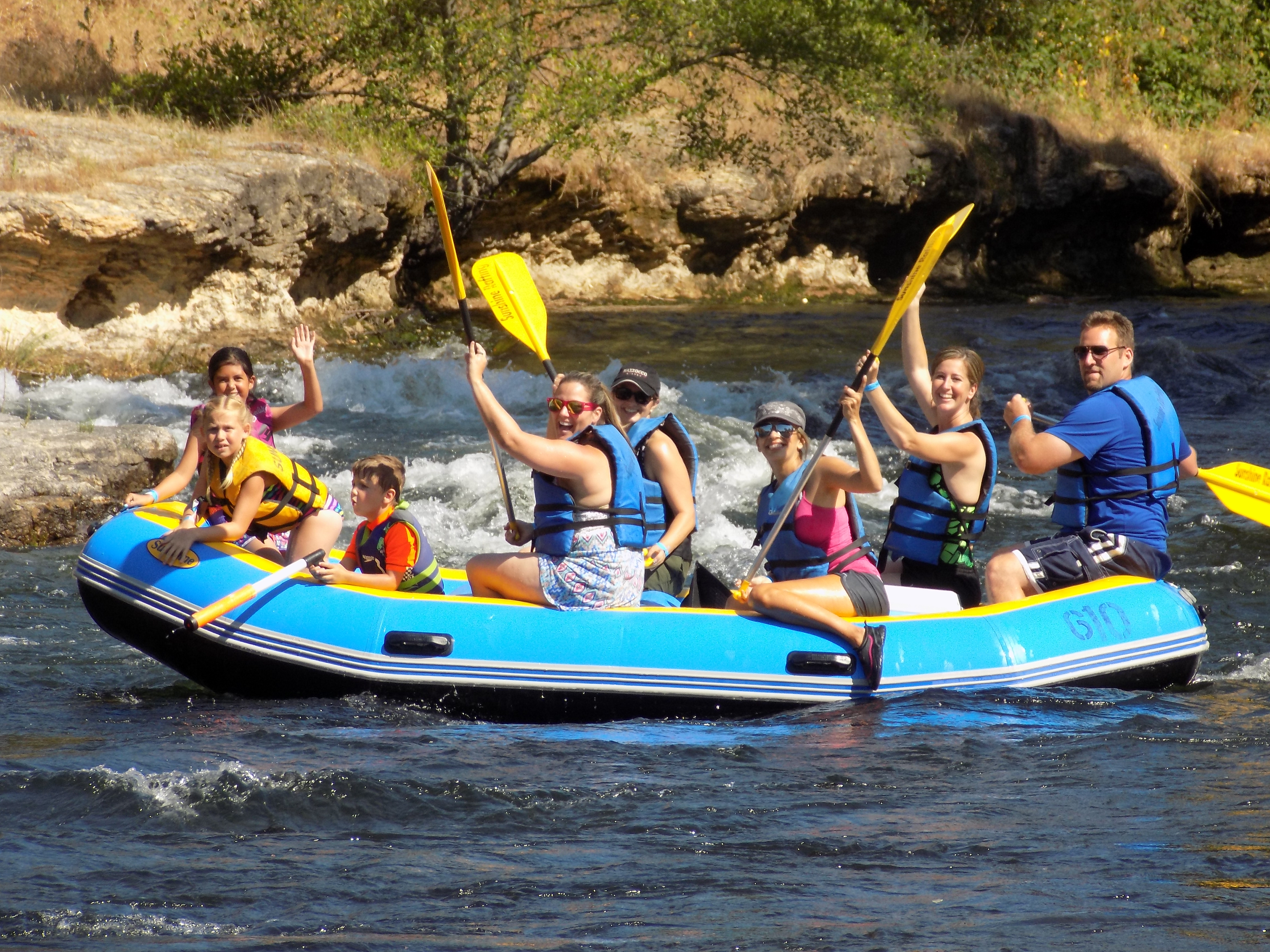 Alive and Laughing, Rafting on the Stanislaus