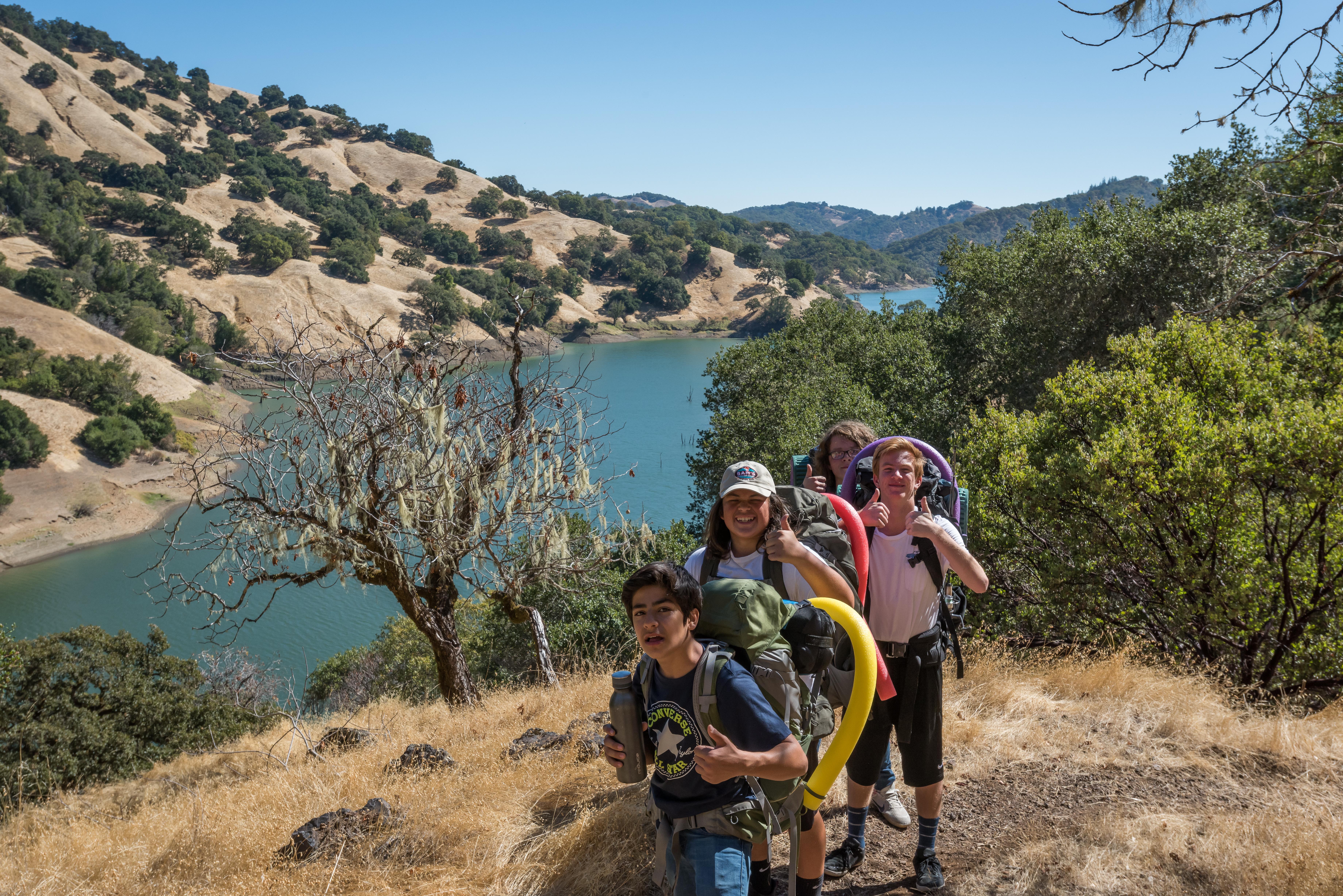 Tales from the Trail:  Shoulder  Season Camping at Lake Sonoma