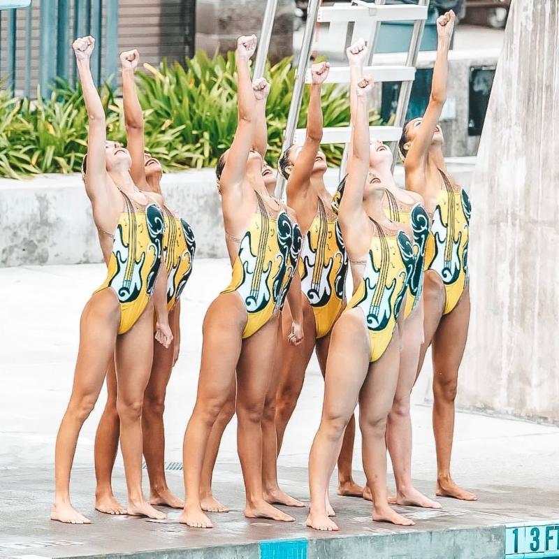 Aquanuts Win Gold at Nationals