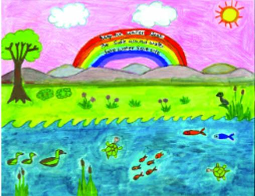 Water Awareness Youth Art  Calendar Contest