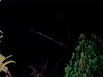 Strange Lights Seen in Sky